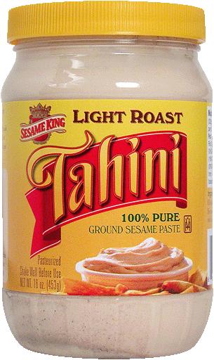 Tahini Paste, Light Roast : Sunshine International Foods, Sesame King ...